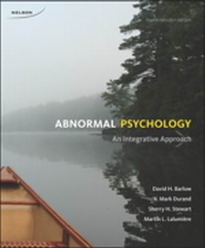 Solution Manual (Complete Download) for Abnormal Psychology: An Integrative Approach, 4th Edition, David H. Barlow, V. Mark Durand, Sherry H. Stewart, Martin L. Lalumière, ISBN-10: 0176531653, ISBN-13: 9780176531652, Instantly Downloadable Solution Manual, Complete (ALL CHAPTERS) Solution Manual