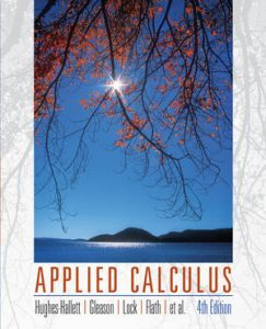 Solution Manual (Complete Download) for Applied Calculus, 4th Edition, Deborah Hughes-Hallett, Patti Frazer Lock, Andrew M. Gleason, Daniel E. Flath, Sheldon P. Gordon, David O. Lomen, David Lovelock, William G. McCallum, Brad G. Osgood, Andrew Pasquale, Jeff Tecosky-Feldman, Joseph Thrash, Karen R. Rhea, Thomas W. Tucker, ISBN 9780470170526, ISBN : 9780470563830, ISBN : 9780470556627, ISBN : 9780470615348, Instantly Downloadable Solution Manual, Complete (ALL CHAPTERS) Solution Manual