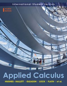 Solution Manual (Complete Download) for Applied Calculus, International Student Version, 4th Edition, Deborah Hughes-Hallett, Patti Frazer Lock, Andrew M. Gleason, Daniel E. Flath, Sheldon P. Gordon, David O. Lomen, David Lovelock, William G. McCallum, Brad G. Osgood, Andrew Pasquale, Jeff Tecosky-Feldman, Joseph Thrash, Karen R. Rhea, Thomas W. Tucker, ISBN: 9780470505892, Instantly Downloadable Solution Manual, Complete (ALL CHAPTERS) Solution Manual