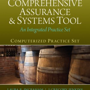 Solution Manual (Complete Download) for [There is NO Solution For PeachTree] Computerized Practice Set for Comprehensive Assurance & Systems Tool (CAST), 3/E, Laura R. Ingraham, J. Greg Jenkins, ISBN-10: 0133099202, ISBN-13: 9780133099201, ISBN-10: 0133143260, ISBN-13: 9780133143263, Instantly Downloadable Solution Manual, Complete (ALL CHAPTERS) Solution Manual