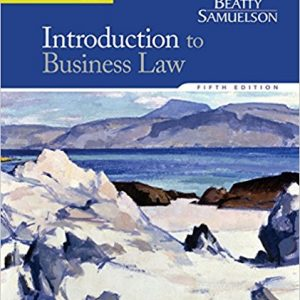 Solution manual for Introduction to Business Law 5th Edition by Beatty