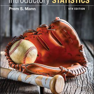 Solution manual for Introductory Statistics 9th Edition by Mann