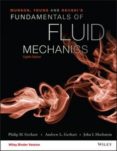 Solution manual for Munson, Young and Okiishi's Fundamentals of Fluid Mechanics 8th Edition by Gerhart