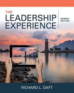 Solution manual for The Leadership Experience 7th Edition by Daft