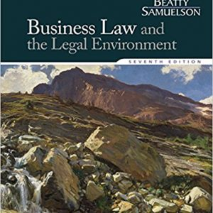 Test bank for Business Law and the Legal Environment 7th Edition by Beatty