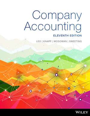 Test bank for Company Accounting 11th Edition by Leo