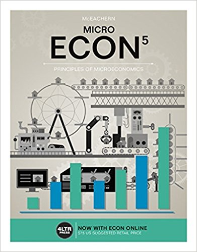 Test bank for ECON MICRO 5th Edition by Mceachern