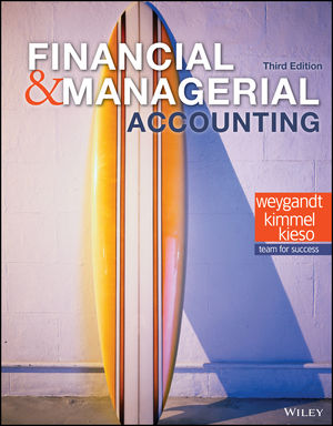 Test bank for Financial and Managerial Accounting 3rd Edition by Weygandt