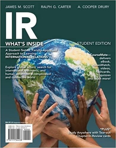 Test bank for IR 2014 Edition 1st Edition by Scott