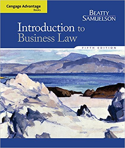 Test bank for Introduction to Business Law 5th Edition by Beatty