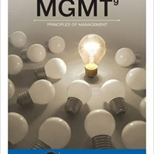 Test bank for MGMT 9th Edition by Williams