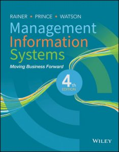 Test bank for Management Information Systems 4th Edition by Rainer