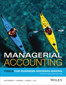 Test bank for Managerial Accounting: Tools for Business Decision-Making, 4th Edition by Weygandt