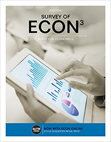 Test bank for Survey of ECON 3rd Edition by Sexton