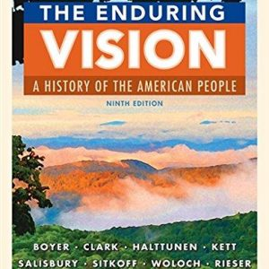 Test bank for The Enduring Vision A History of the American People 9th Edition by Boyer