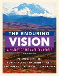 Test bank for The Enduring Vision Volume II 9th Edition by Boyer