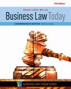Solution Manual (Complete Download) for Business Law Today, Comprehensive, 11th Edition, Roger LeRoy Miller, ISBN-10: 1305575016, ISBN-13: 9781305575011, Instantly Downloadable Solution Manual, Complete (ALL CHAPTERS) Solution Manual