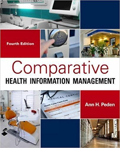 Solution Manual (Complete Download) for Comparative Health Information Management, 3rd Edition, Ann Peden, ISBN-10 1111125627, ISBN-13 9781111125622