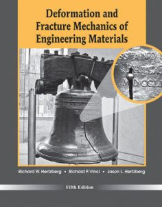 Solution Manual (Complete Download) for Deformation and Fracture Mechanics of Engineering Materials, 5th Edition, by Richard W. Hertzberg, Richard P. Vinci, Jason L. Hertzberg, ISBN : 9781118324240, ISBN 9780470527801, Instantly Downloadable Solution Manual, Complete (ALL CHAPTERS) Solution Manual