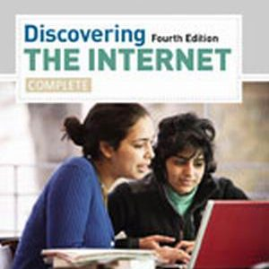 Solution Manual (Complete Download) for Discovering the Internet: Complete, 4th Edition, Gary B. Shelly, Jennifer Campbell, ISBN-10: 1111820724, ISBN-13: 9781111820725, Instantly Downloadable Solution Manual, Complete (ALL CHAPTERS) Solution Manual