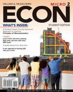 Solution Manual (Complete Download) for ECON Micro 2, 2nd Edition, William A. McEachern, ISBN-10: 1439039968, ISBN-13: 9781439039960, Instantly Downloadable Solution Manual, Complete (ALL CHAPTERS) Solution Manual