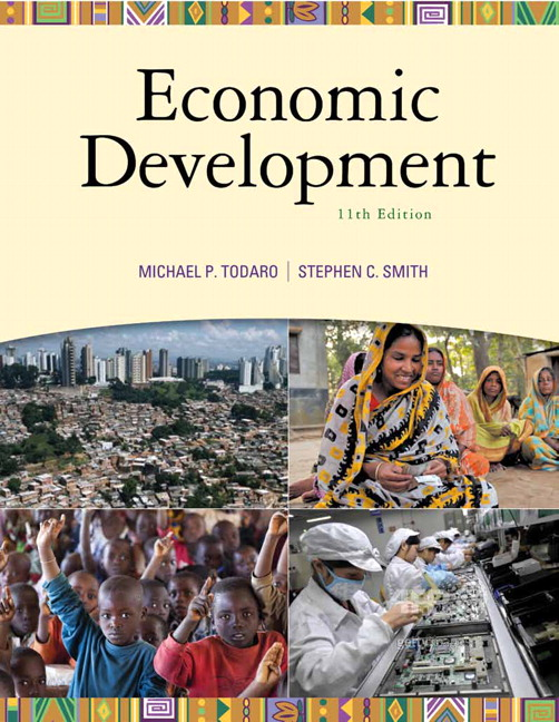 Solution Manual (Complete Download) for Economic Development, 11/E, Michael P. Todaro, Stephen C. Smith, ISBN-10: 0138013888, ISBN-13: 9780138013882, Instantly Downloadable Solution Manual, Complete (ALL CHAPTERS) Solution Manual