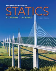 Solution Manual (Complete Download) for Engineering Mechanics, Statics, 7th Edition, J. L. Meriam, L. G. Kraige, ISBN: 0470614730, ISBN : 9781118214848, ISBN : 9780470917879, ISBN : 9780470614730, Instantly Downloadable Solution Manual, Complete (ALL CHAPTERS) Solution Manual