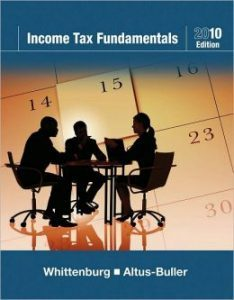 Solution Manual (Complete Download) for Income Tax Fundamentals 2010, 28th Edition, Gerald E. Whittenburg, Martha Altus-Buller, ISBN-10: 1439044090, ISBN-13: 9781439044094, Instantly Downloadable Solution Manual, Complete (ALL CHAPTERS) Solution Manual