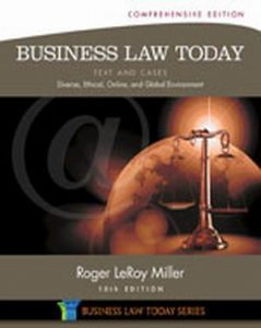 Solution Manual (Complete Download) for Business Law Today, Comprehensive: Text and Cases: Diverse, Ethical, Online, and Global Environment, 10th Edition, Roger LeRoy Miller, ISBN-10: 1285428935, ISBN-13: 9781285428932, Instantly Downloadable Solution Manual, Complete (ALL CHAPTERS) Solution Manual