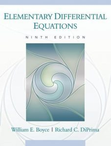 Solution Manual (Complete Download) for Elementary Differential Equations, 9th Edition, William E. Boyce, Richard C. DiPrima, ISBN : 9780470457108, ISBN : 9780470404041, ISBN : 9780470039403, ISBN : 9780470590775, Instantly Downloadable Solution Manual, Complete (ALL CHAPTERS) Solution Manual