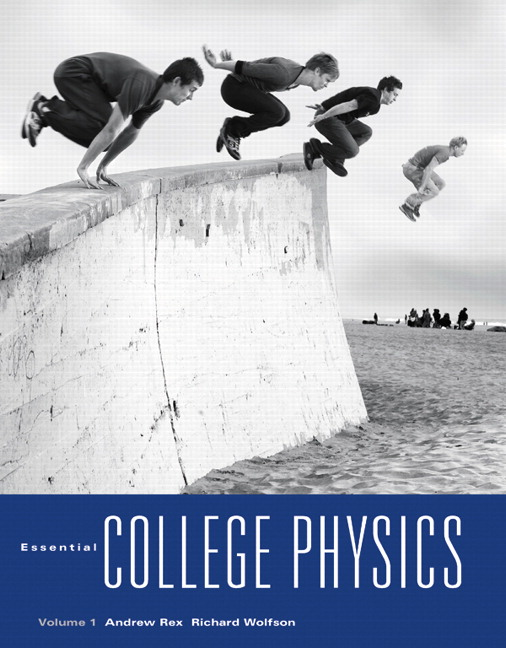 Solution Manual (Complete Download) for Essential College Physics, 1e, Andrew Rex, Richard Wolfson, ISBN-10: 0321598563, ISBN-13: 9780321598561, ISBN-10: 0321598547, ISBN-13: 9780321598547, Instantly Downloadable Solution Manual, Complete (ALL CHAPTERS) Solution Manual