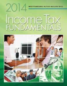 Solution Manual (Complete Download) for Income Tax Fundamentals 2014, 32nd Edition, Gerald E. Whittenburg, Martha Altus-Buller, Steven Gill, ISBN-10: 1285424549, ISBN-13: 9781285424545, Instantly Downloadable Solution Manual, Complete (ALL CHAPTERS) Solution Manual