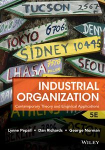 Solution Manual (Complete Download) for Industrial Organization: Contemporary Theory and Empirical Applications, 5th Edition, Lynne Pepall, Dan Richards, George Norman, ISBN : 1118250303, ISBN : 978-1-118-54550-8, ISBN : 978-1-118-25030-3, ISBN : 9781118545508, ISBN : 9781118250303, Instantly Downloadable Solution Manual, Complete (ALL CHAPTERS) Solution Manual