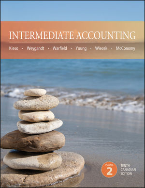 Solution Manual (Complete Download) for Intermediate Accounting 10th Canadian Edition Volume 2, Donald E. Kieso, Jerry J. Weygandt, Terry D. Warfield, Nicola M. Young, Irene M. Wiecek, Bruce J. McConomy, ISBN : 9781118655719, ISBN : 9781118300855, Instantly Downloadable Solution Manual, Complete (ALL CHAPTERS) Solution Manual