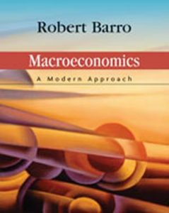 Solution Manual (Complete Download) for Macroeconomics: A Modern Approach, 1st Edition, Robert J. Barro, ISBN-10: 0324178107, ISBN-13: 9780324178104, Instantly Downloadable Solution Manual, Complete (ALL CHAPTERS) Solution Manual