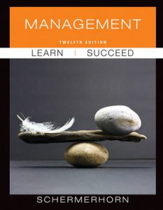 Solution Manual (Complete Download) for Management, 12th Edition, by John R. Schermerhorn, ISBN 9781118113929, Instantly Downloadable Solution Manual, Complete (ALL CHAPTERS) Solution Manual