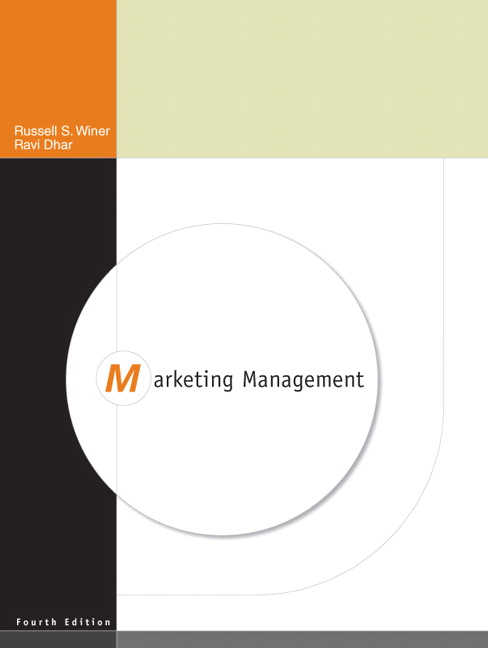 Solution Manual (Complete Download) for Marketing Management, 4/E, Russ Winer, Ravi Dhar, ISBN-10: 0136074898, ISBN-13: 9780136074892, Instantly Downloadable Solution Manual, Complete (ALL CHAPTERS) Solution Manual