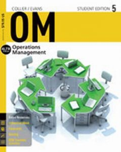 Solution Manual (Complete Download) for OM 5, 5th Edition, David Alan Collier, James R. Evans, ISBN-10: 1285451376, ISBN-13: 9781285451374, Instantly Downloadable Solution Manual, Complete (ALL CHAPTERS) Solution Manual