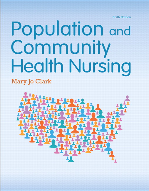 Solution Manual (Complete Download) for Population and Community Health Nursing, 6/E, Mary Jo Clark, ISBN-10: 0133859592, ISBN-13: 9780133859591, Instantly Downloadable Solution Manual, Complete (ALL CHAPTERS) Solution Manual