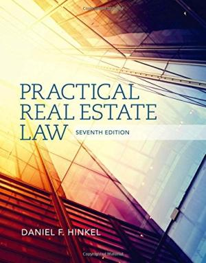 Solution Manual (Complete Download) for Practical Real Estate Law, 7th Edition, Daniel F. Hinkel, ISBN-10: 1285448634, ISBN-13: 9781285448633, Instantly Downloadable Solution Manual, Complete (ALL CHAPTERS) Solution Manual