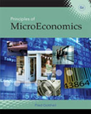 Solution Manual (Complete Download) for Principles of Microeconomics, 6th Edition, Fred M. Gottheil, ISBN-10: 142406872X, ISBN-13: 9781424068722, Instantly Downloadable Solution Manual, Complete (ALL CHAPTERS) Solution Manual