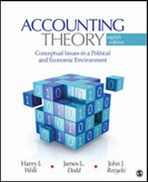 Solution Manual (Complete Download) for Accounting Theory Conceptual Issues in a Political and Economic Environment, 8th Edition, Harry I. Wolk, James L. Dodd, John J. Rozycki, ISBN: 9781412991698, ISBN-10: 1412991692, ISBN-13: 978-1412991698, Instantly Downloadable Solution Manual, Complete (ALL CHAPTERS) Solution Manual
