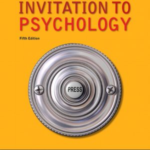 Solution Manual (Complete Download) for Invitation to Psychology, 5/E, Carole Wade, Carol Tavris, ISBN-10: 0205035191, ISBN-13: 9780205035199, ISBN-10: 0205979599, ISBN-13: 9780205979592, Instantly Downloadable Solution Manual, Complete (ALL CHAPTERS) Solution Manual