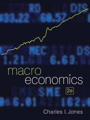 Solution Manual (Complete Download) for Macroeconomics, 2nd Edition, Charles I. Jones, ISBN: 9780393119589, Instantly Downloadable Solution Manual, Complete (ALL CHAPTERS) Solution Manual