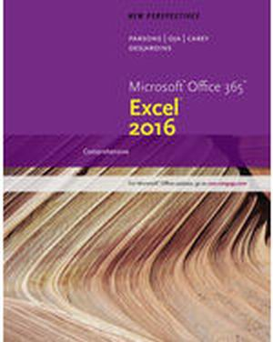 Solution Manual (Complete Download) for New Perspectives Microsoft® Office 365 & Excel 2016: Comprehensive, 1st Edition, June Jamrich Parsons, Dan Oja, Patrick Carey, Carol DesJardins, ISBN-10: 1305880404, ISBN-13: 9781305880405, Instantly Downloadable Solution Manual, Complete (ALL CHAPTERS) Solution Manual