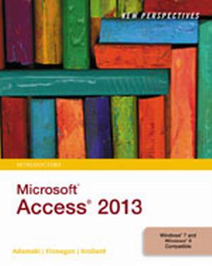 Solution Manual (Complete Download) for New Perspectives on Microsoft® Access 2013, Introductory, 1st Edition, Joseph J. Adamski, Kathleen T. Finnegan, Sharon Scollard, ISBN-10: 1285099214, ISBN-13: 9781285099217, Instantly Downloadable Solution Manual, Complete (ALL CHAPTERS) Solution Manual