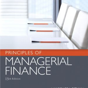 Solution Manual (Complete Download) for Principles of Managerial Finance, 13th Edition, Lawrence J. Gitman, Chad J. Zutter, ISBN-10: 0136119468, ISBN-13: 9780136119463, Instantly Downloadable Solution Manual, Complete (ALL CHAPTERS) Solution Manual