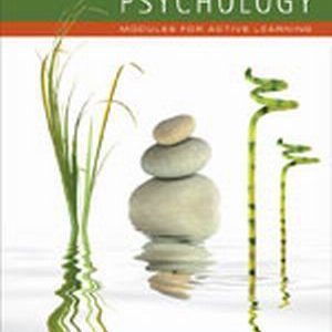 Solution Manual (Complete Download) for Psychology: Modules for Active Learning, 12th Edition, Dennis Coon, John O. Mitterer, ISBN-10: 1111342849, ISBN-13: 9781111342845, Instantly Downloadable Solution Manual, Complete (ALL CHAPTERS) Solution Manual