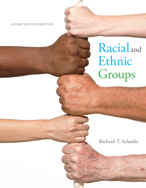 Solution Manual (Complete Download) for Racial and Ethnic Groups, 14/E, Richard T. Schaefer, ISBN-10: 0133770990, ISBN-13: 9780133770995, ISBN-10: 0134126963, ISBN-13: 9780134126968, Instantly Downloadable Solution Manual, Complete (ALL CHAPTERS) Solution Manual