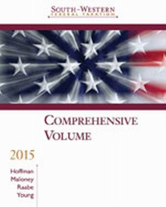Solution Manual (Complete Download) for South-Western Federal Taxation 2015: Comprehensive, 38th Edition, William H. Hoffman, Jr., David M. Maloney, William A. Raabe, James C. Young, ISBN-10: 1285439635, ISBN-13: 9781285439631, Instantly Downloadable Solution Manual, Complete (ALL CHAPTERS) Solution Manual